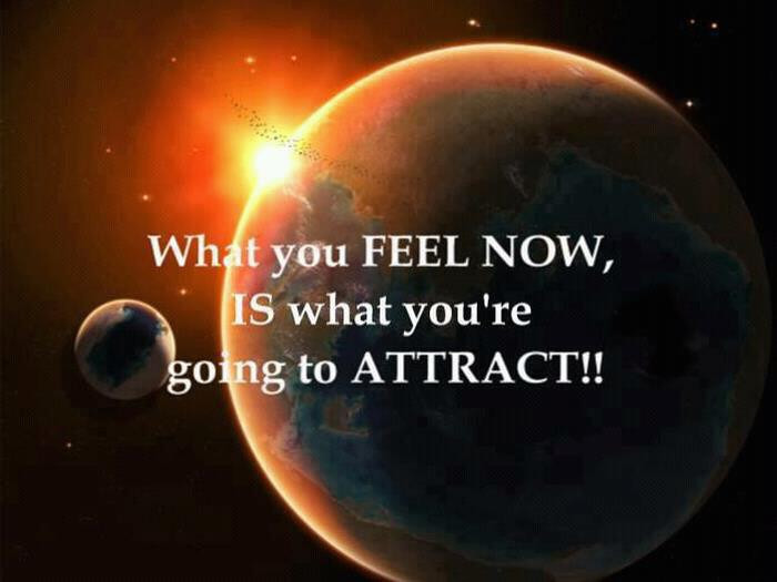 What you feel you attract. groundedpsychic.com