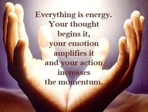 Everything is energy. groundedpsychic.com