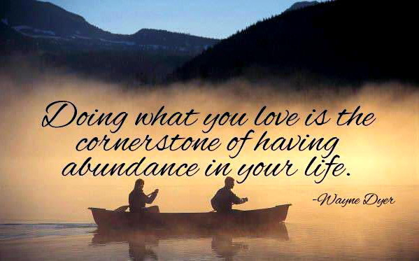 Do what you love. groundedpsychic.com