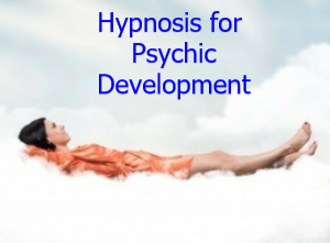 hypnosis for pysychic development