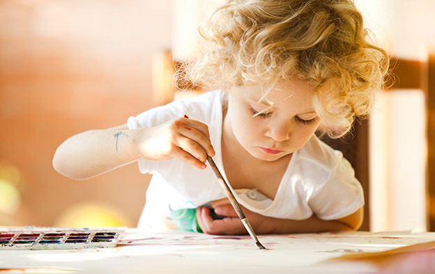 Psychic Children are often very artistic and creative in an out of the box way.