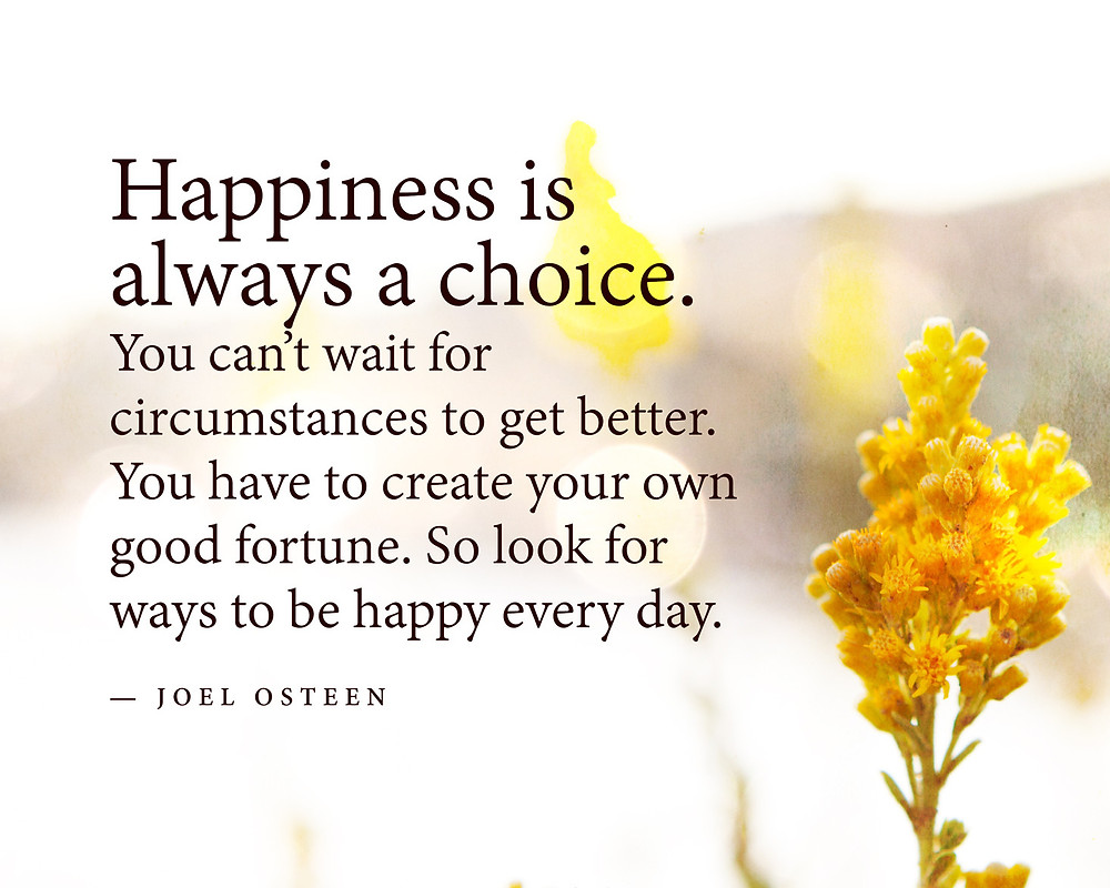 Happiness is always a choice. www.groundedpsychic.com