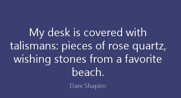 Dani Shapiro quote.