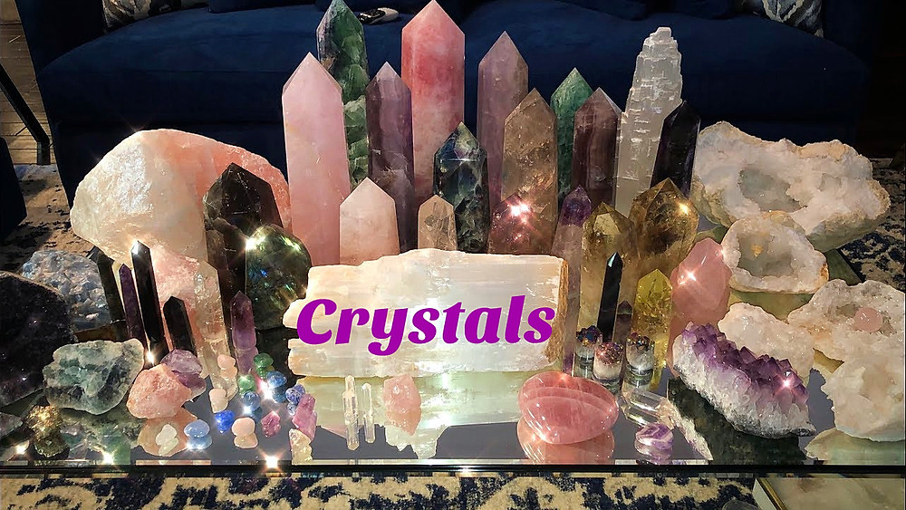 Crystals groundedpsychic.com