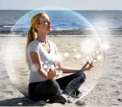 Proctective Bubble. groundedpsychic.com Laura Zibalese