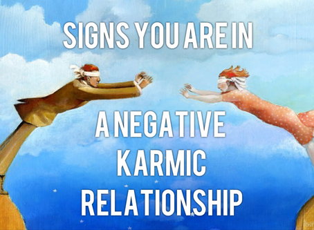 Signs of a Negative Karmic Relationship