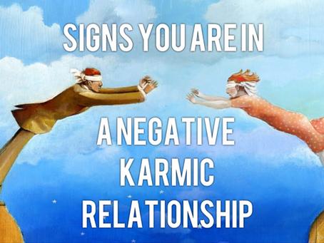 Signs of a Negative Karmic Relationship