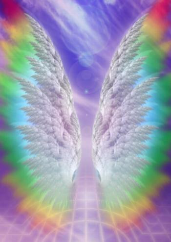 Angle wings. groundedpsychic.com Laura Zibalese