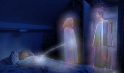 Leaveing the body after death. groundedpsychic.com Laura Zibalese