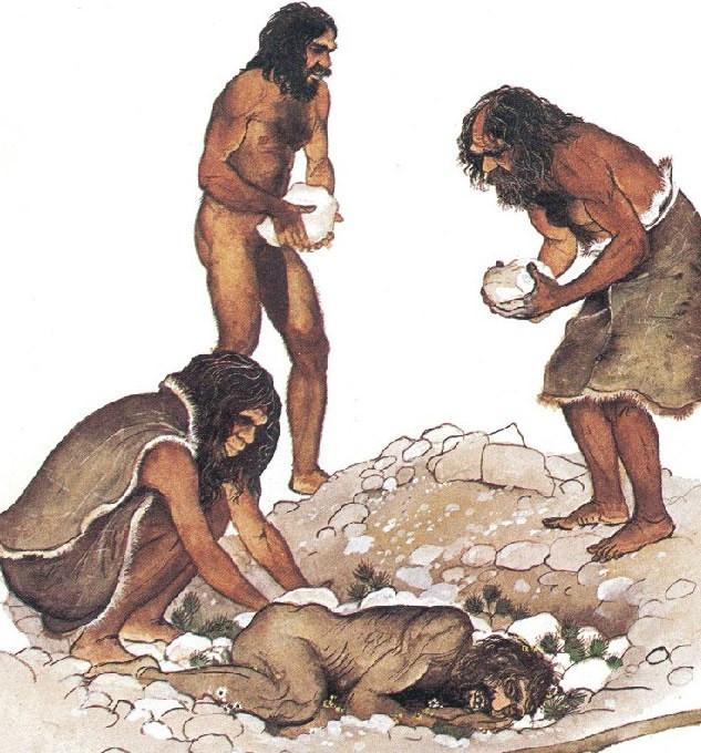 Neanderthal burial groundedpsychic.com