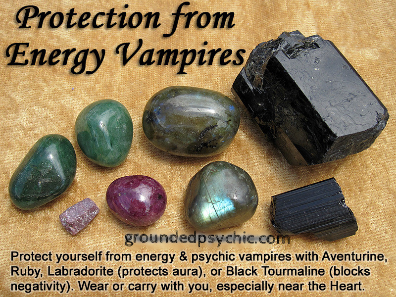 Crystals to protectagainst psychic attacks. groundedpsychic.com