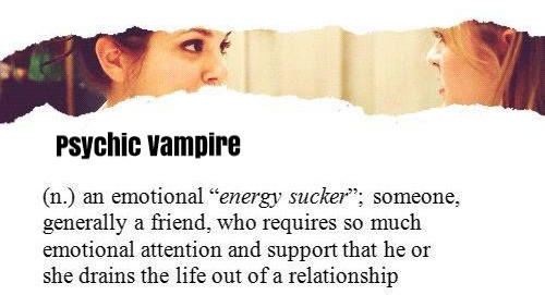 What is a Psychic Vampire? groundedpsychic.com