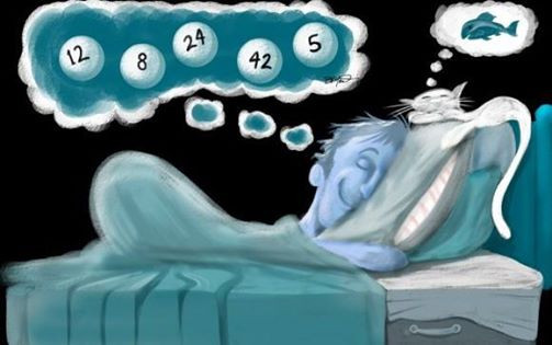 Dreaming of Numbers. groundedpsychic.com