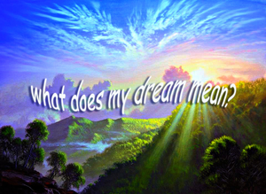 What do my dreams mean? groundedpsychic.com