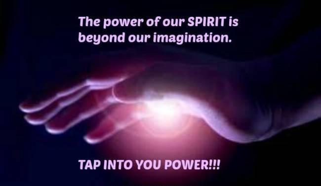 The power of spirit.