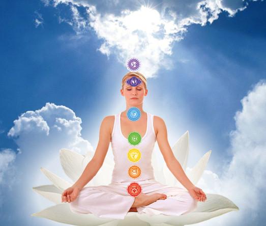 Chakra meditation. groundedpsychic.com Laura Zibalese