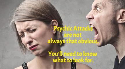 Symptems of psychic attacks. groundedpsychic.com