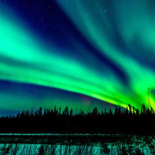 Swirling Aurora