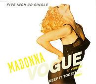 "The ""Vogue"" single."