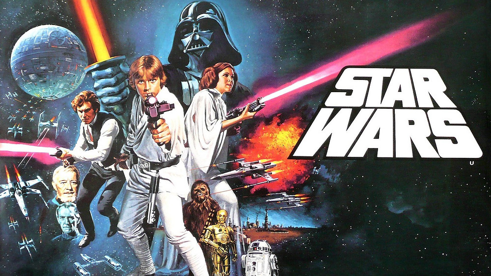 A poster for Star Wars.
