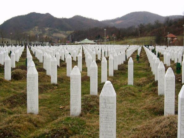The Srebrenica Memorial.