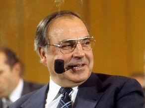 Helmut Kohl.