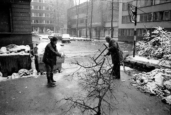 Sarajevo during the Balkan Civil Wars.