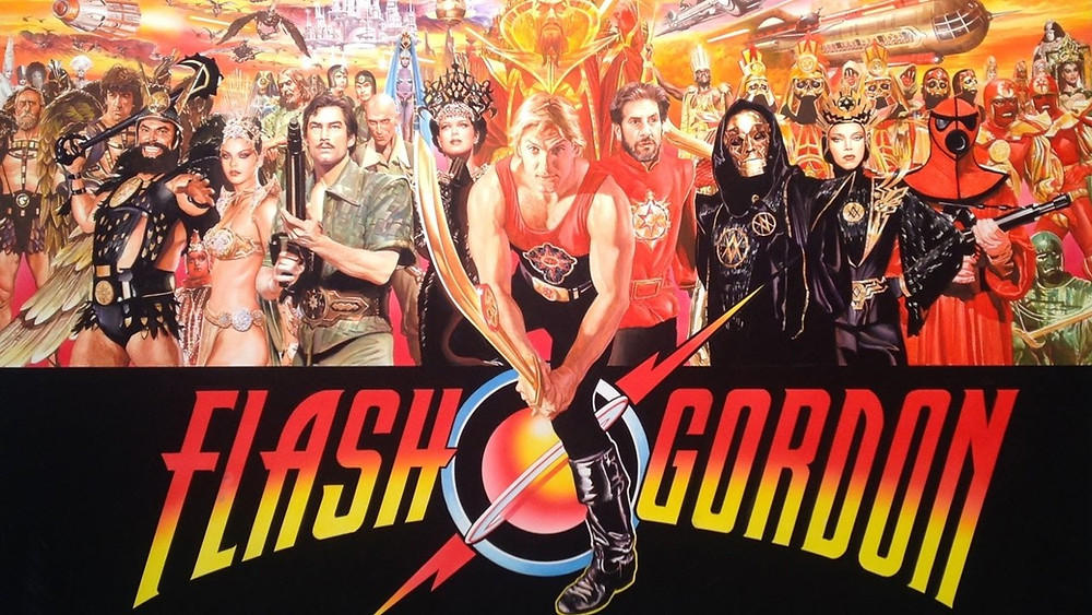 A poster for 1980's Flash Gordon.