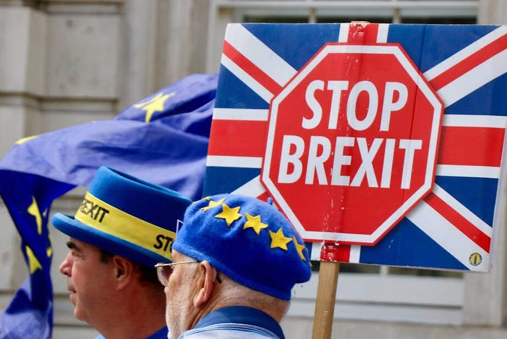 A Stop Brexit demonstration.