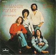 "The ""I'm Mandy fly me"" single."