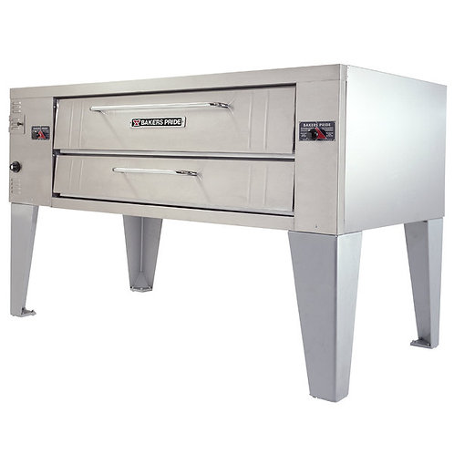 """New Bakers Pride Y-600 Super Deck NG Single Deck Pizza Oven (Fits 6 18"""" Pies)"""