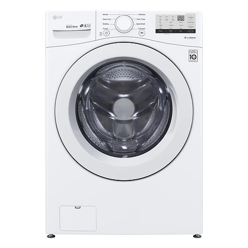 "New LG WM3400CW 27"" Front Load Washer with 4.5 cu. ft. Capacity Energy Star"