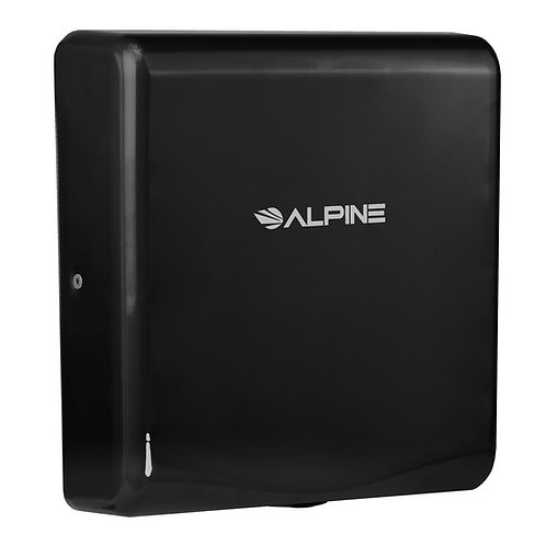 New Alpine 405-10-BLA Willow High Speed Commercial Hand Dryer, 120V, Black
