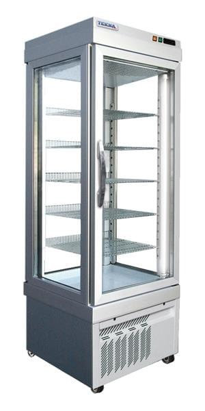 New Ampto TEKNA 4400 NFP Four Sided Glass Cake Display Case Cooler