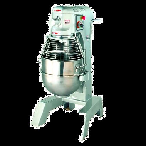 New BakeMax BMPM030 30 Qt 1 HP Heavy Duty Planetary Mixer, 3 Speed, 110 Volts