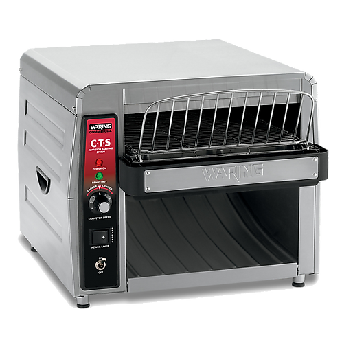 "New Waring CTS1000 Conveyor Toaster - 450 Slices/hr w/ 2"" Product Opening 120V"