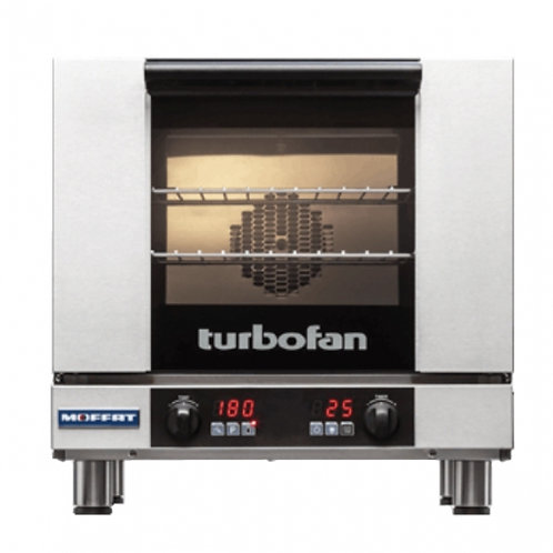 """New Moffat E28D4 31-7/8"""" Turbofan Full-Size Electric Convection Oven 220V/1P"""