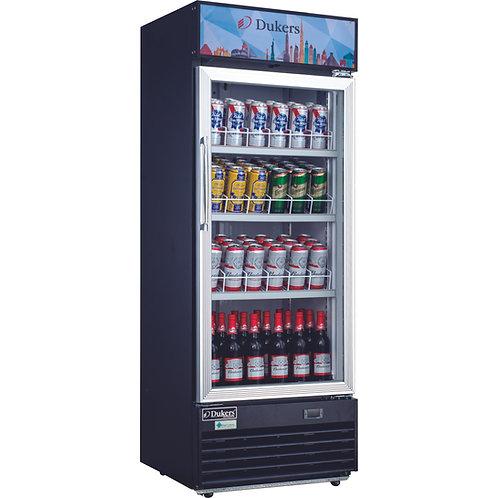 "New Dukers DSM-12R 68"" High One Glass Door Refrigerator"