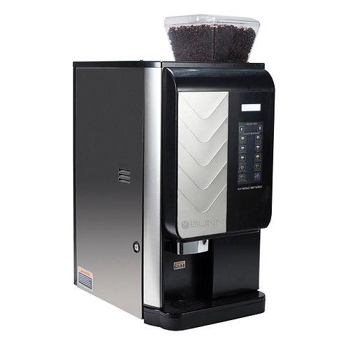 New Bunn 44300.0201 Crescendo Bean to Cup Coffee Brewer w/ (2) 3 3/10 lb Hoppers