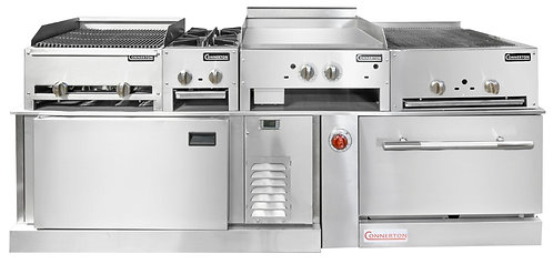 New Connerton Cooking Custom Signature Kitchen Suite With Chef Base & Oven