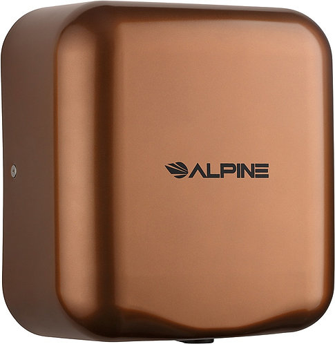 New Alpine 400-10-COP Copper 120-Volt High Speed Dry Electric Hand Dryer