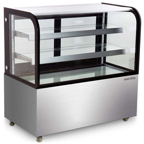 """New Marchia MB48 (48"""") Bakery Case Curved Glass"""
