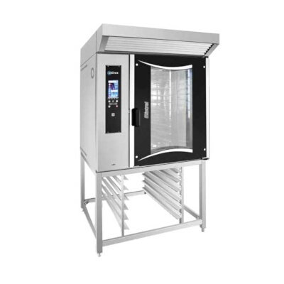New Univex Electric Rotating Half Rack Oven With Stand Model RHRER2 208-240/60/3