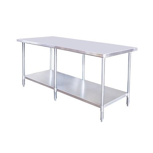 "New 24"" X 72"" Stainless Steel Work Table W/ Galvanized Under Shelf"