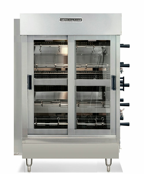 New American Range ACB-4NG 20 Chicken Capacity Rotisserie Natural Gas NS