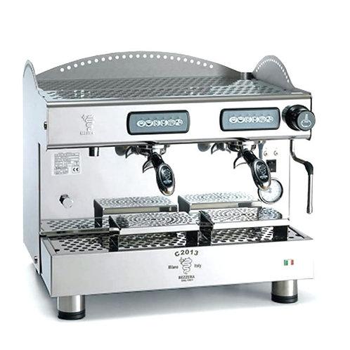 New Ampto Bezzera C2013DE2IS4E Double Automatic Espresso Machine