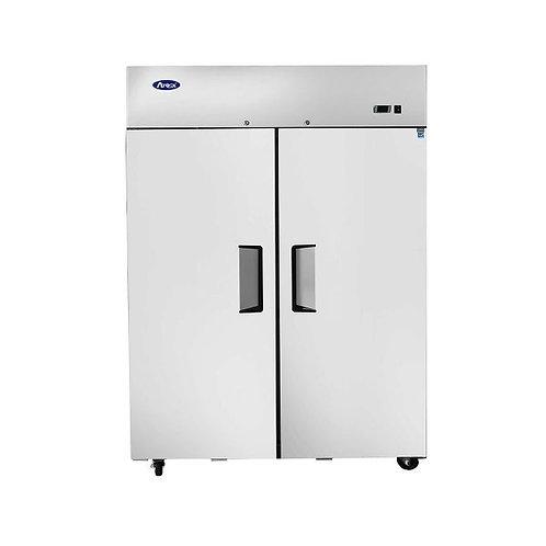 New Atosa MBF8005GR Top Mount (2) Door Refrigerator