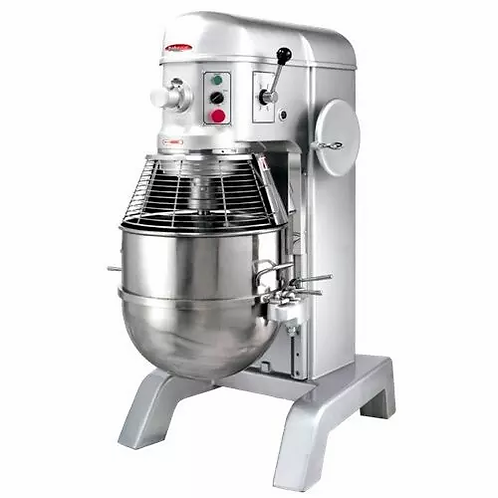 New BakeMax BMPM080 80 Qt 4 HP Heavy Duty Planetary Mixer, 4 Speed, 220V, 1PH