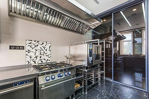 Interior of professional kitchen. Applia