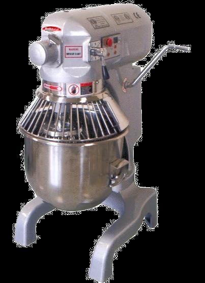 New BakeMax BMPM020 20 Qt ½ HP Heavy Duty Planetary Mixer, 3 Speed, 110 Volts